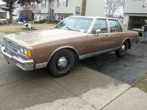 The Best 1985 Caprice Classic For Sale