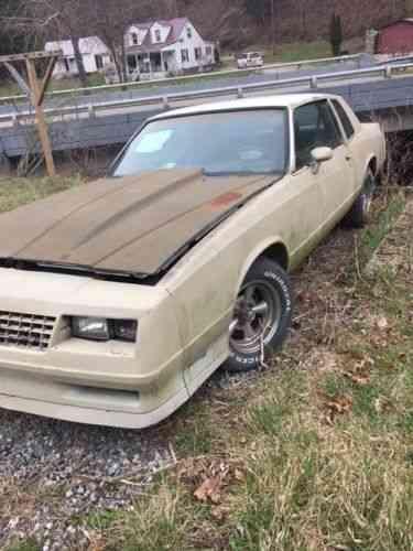 Chevrolet Monte Carlo (1985)