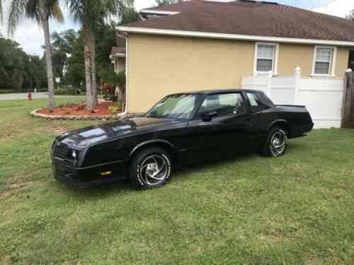 Chevrolet Monte Carlo SS (1985)