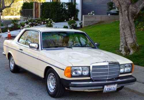 Mercedes-Benz 300-Series gorgeous 300CD turbo diesel coupe (1985)
