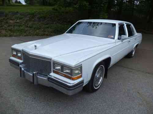 View 1986 Cadillac Brougham