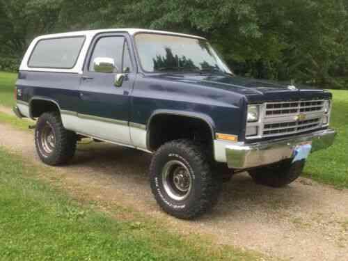chevy k5 blazer lifted w ls motor 1986 chevrolet k5 blazer used classic cars chevy k5 blazer lifted w ls motor
