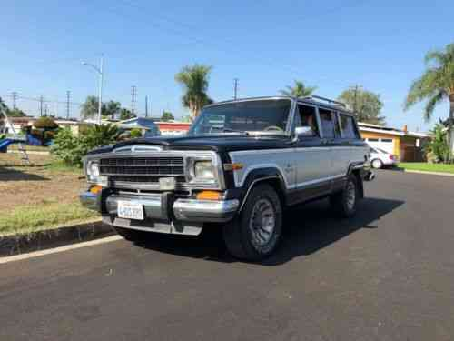 Jeep Wagoneer For Sale >> Jeep Wagoneer Grand Wagoneer 1986 Please Only Bid If You Used