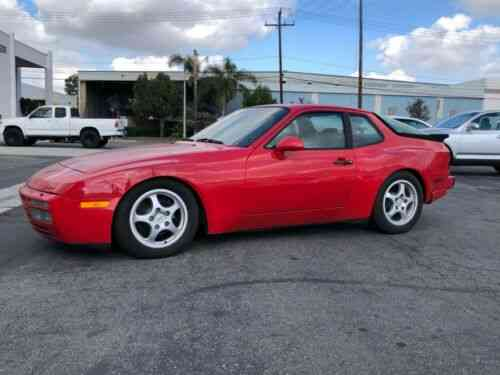 Porsche 944 Turbo 40k Original Miles Lots Of Upgrades 1986 Used Classic Cars