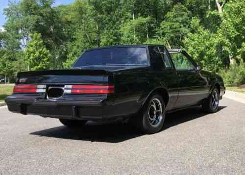 Buick Grand National T Top 1987 Up For Sale Is This Buick Used