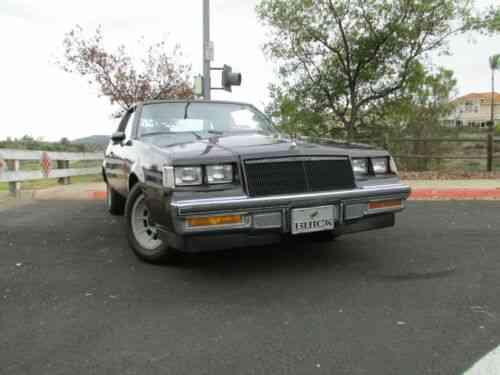 Buick T Type >> Buick Regal T Type Not Grand National 1987 Hello Up For Bid Used
