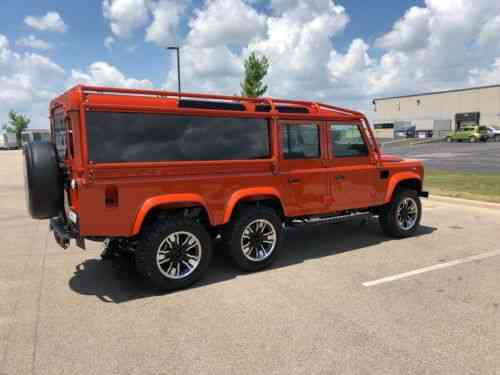 Land Rover Defender 5 Door 6x6 150 1987 This Is The Ultimate Used
