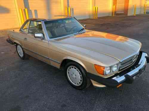Mercedes 560sl 1987 Mercedes 560sl 5 5 Liter V8 Engine With Used Classic Cars