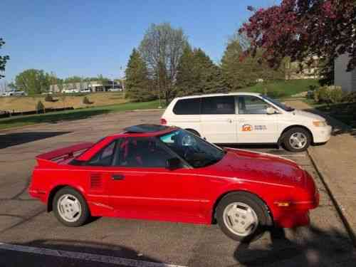 Toyota Mr2 1987 >> Toyota Mr2 Gt 1987 This Is A Great Car In Absolutely Used Classic