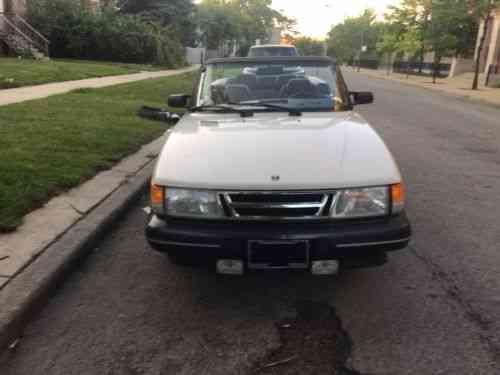Saab 900 Convertible 1988