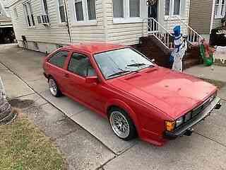 Volkswagen Scirocco (1985) 1986 Volkswagen Scirocco 186 600km: Used