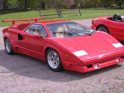 Lamborghini Countach 25th Anniversary Edition 1989 Up For Used