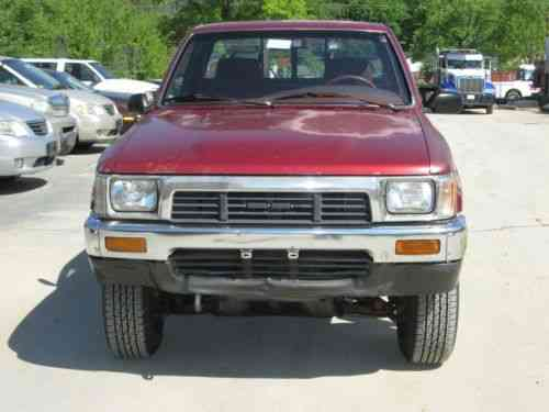 Toyota Pickup Short Bed Deluxe (1989)