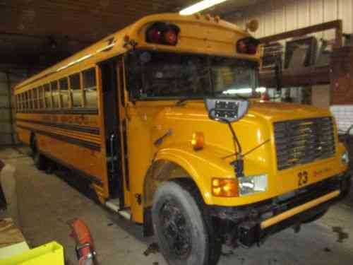 1990 Blue Bird School Bus 12 Row seating IH DTA360 Engine w/ Automatic 137k