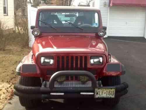 Jeep Wrangler Sahara (1990)