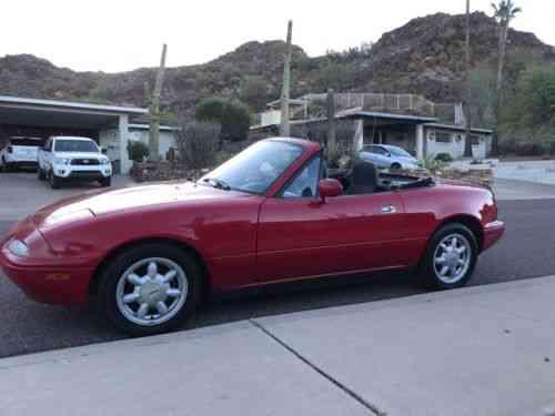 Mazda Mx 5 Miata 1990 Convertible Rust Free