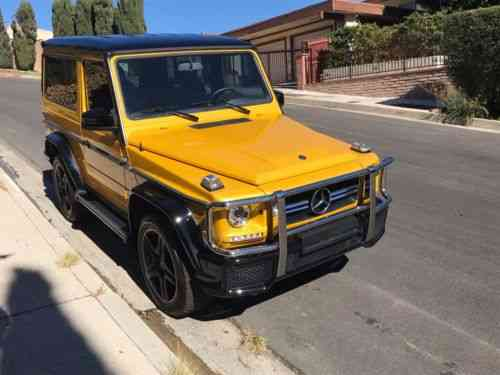 Mercedes Benz G Class 2 Door Amg 1990 You Are Looking At Used