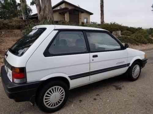 Subaru Other Justy GL 4wd 2 door micro car (1990)