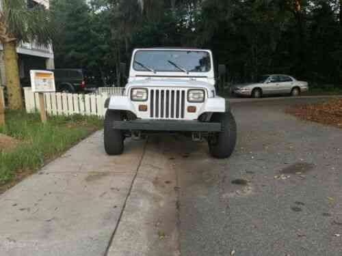 Jeep Wrangler Yj 1991 Selling This Used Classic Cars