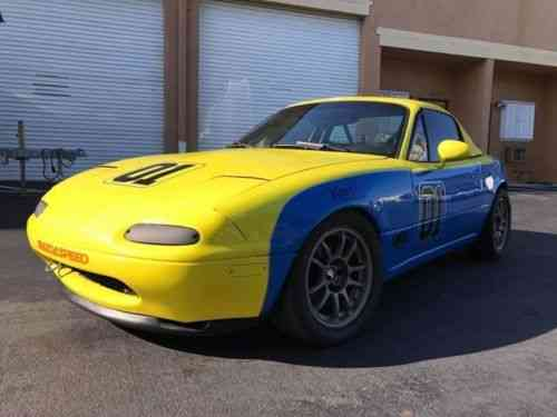 Spec Miata For Sale >> Mazda Miata Up For Sale Is A Spec Miata Race Car Scca Log Book Vans