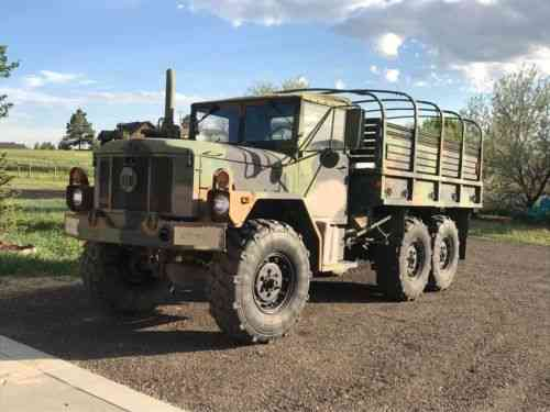Am General Great Condition Low Mile M35a3 Deuce And A Half 2 Vans