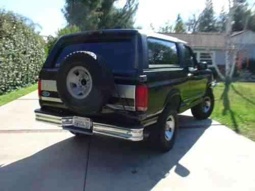 ford bronco xlt 1994 for sale is a ford bronco xlt in black used classic cars carscoms com
