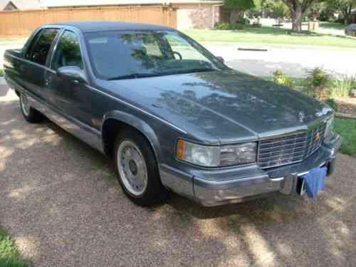 cadillac fleetwood brougham 1995 cadillac fleetwood brougham used classic cars cadillac fleetwood brougham 1995