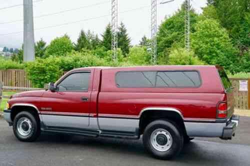 1996 Dodge Ram 2500 SLT Laramie Regular Cab LB 12V Diesel 58,000 Miles  1'Owner