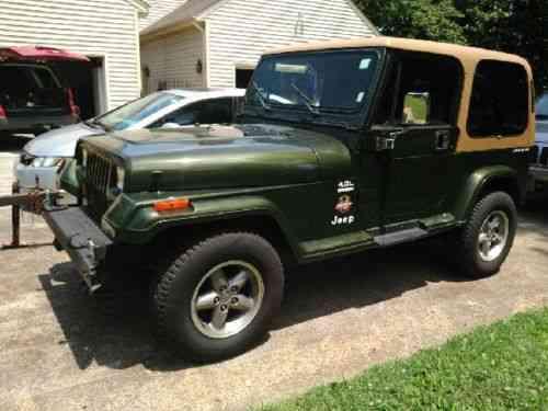 Jeep Wrangler Sahara (1995)