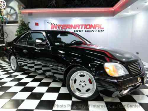 S Class 2dr Coupe 6. 0l S Class Mercedes Benz S600 V12 W140: Used Classic  Carscarscoms.com