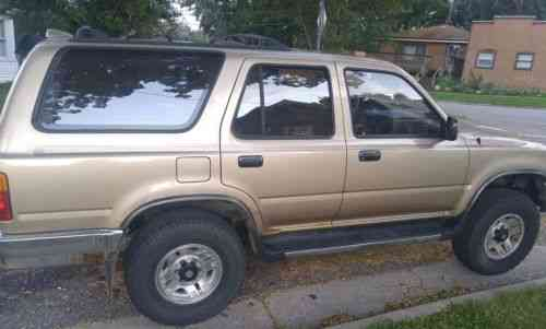toyota 4runner sr5 1995 bought this thinking it had a bad used classic cars carscoms com