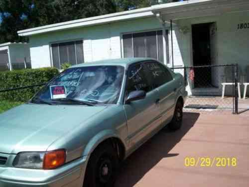 toyota tercel 4 door 1995 toyota tercel dx 4 cylinder 1 5 l used classic cars door 1995 toyota tercel dx 4 cylinder