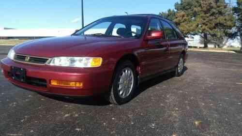 rare 1996 honda accord ex station wagon with 94 251 miles used classic cars rare 1996 honda accord ex station wagon