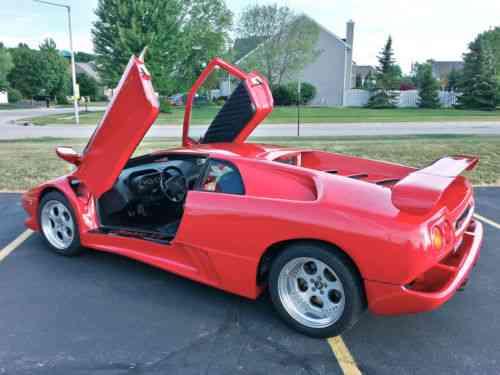 Replica Kit Makes Lamborghini Diablo Replica 1996 Be Used Classic