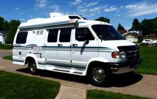 Dodge Ram 3500 Pleasure - Way camper van (1997)