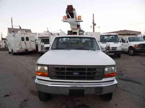 Ford F-SUPER DUTY SERVICE BUCKET TRUCK TELSTA BOOM (1997)