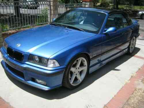 BMW E36 M3 5 SPEED MANUAL CONVERTABLE WITH A HARD TOP (1998)