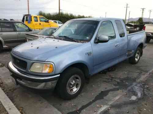 Ford F 150 Xlt 1998 Ford F 150 Step Side 3 Door Extended Cab Used Classic Cars