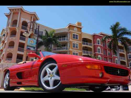 Ferrari 355 Serie Fiorano 1999 Fiorano 24 Rosso Corsa Red