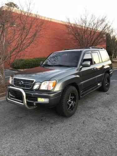 lexus lx 1999 best looking lx470 ready to go anywhere used classic cars carscoms com