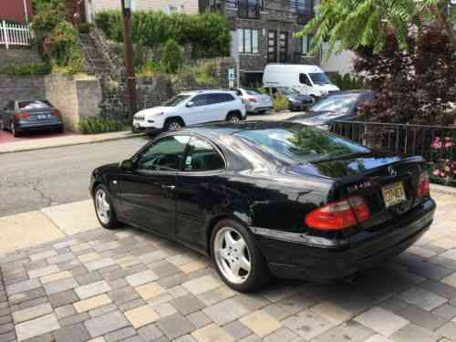 Mercedes benz clk class base coupe 2 door 1999 well for 1999 mercedes benz clk class coupe