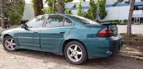 pontiac grand am sedan green fwd automatic gt 1999 about used classic cars pontiac grand am sedan green fwd