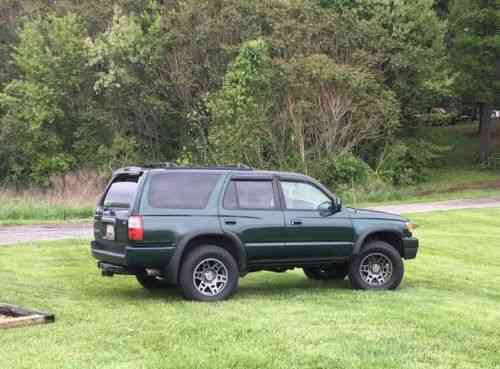 Toyota 4runner Sr5 1999 This Is A Factory Supercharged Trd Used Classic Cars