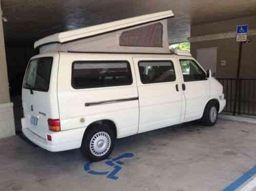 Vw Eurovan Camper >> Volkswagen Eurovan Camper By Winnebago 1999 Volkswagen Used