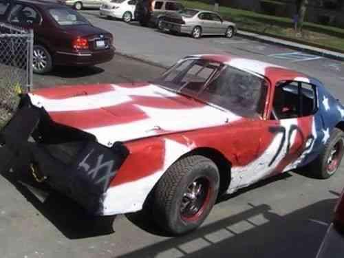 2 Camaro dirt track hobby stock race cars