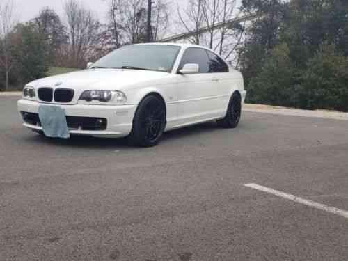 BMW 3-Series 323CI (2000)