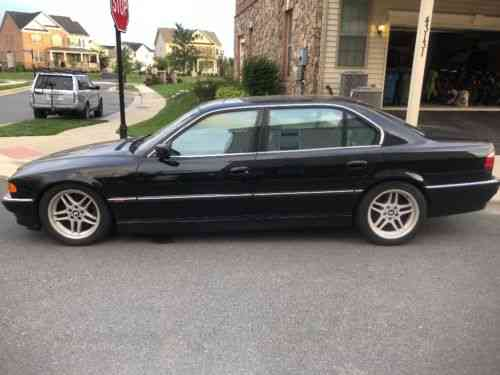 bmw 7 series black on black 2000 bmw 750il over 10 000 used classic cars 2000 bmw 750il over 10 000