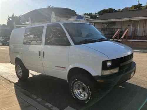 chevy astro awd rare cargo van base 2000 originally owned used classic cars chevy astro awd rare cargo van base
