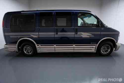Chevrolet Express 1500 CONVERSION VAN NO RESERVE WINNER GETS IT (2000)