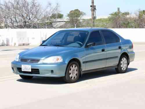 honda civic lx sedan 4 door 2000 item description used classic cars. Black Bedroom Furniture Sets. Home Design Ideas